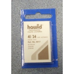 Hawid black mount 41 x 24 mm