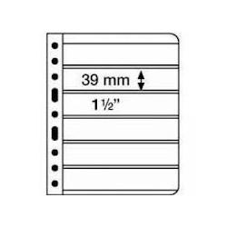 Vario Black 6 Size 39 x 195 mm Pockets