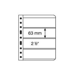 Vario Clear 4 Size 63 x 195 mm Pockets