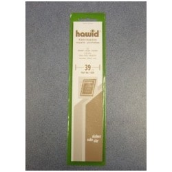 Hawid black mount 39 x 210 mm