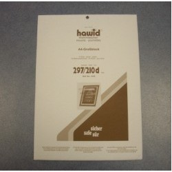 Hawid black mount 297 x 210 mm