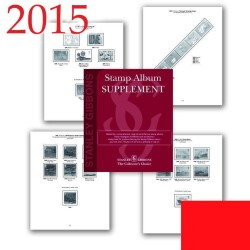 2015 Isle of Man Luxury Hingeless Album Supplement
